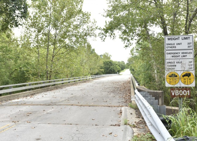 The East Gate remains closed until further notice while improvements are made to the bridge that connects J Highway to Fort Leonard Wood.
