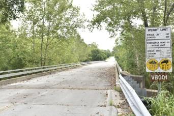 East Gate Bridge improvements continue
