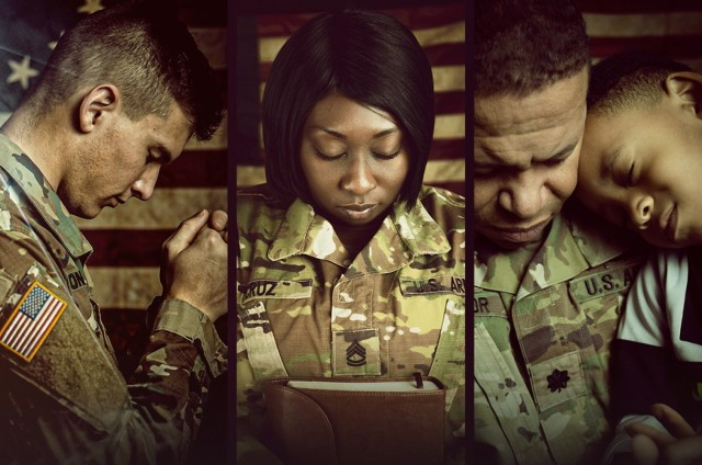 Chaplain Corps call to prayer during September