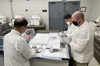 Army medical maintenance ensures blood support readiness in Korea