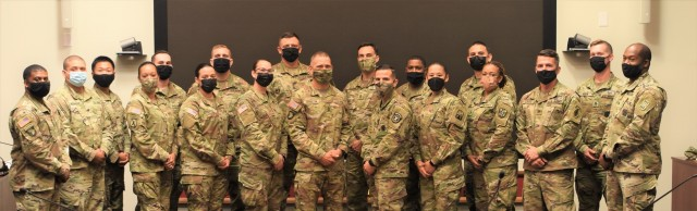 SMA Grinston and Soldier panelist group photo.