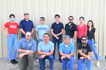 Interns get hands-on experience at Yuma Proving Ground