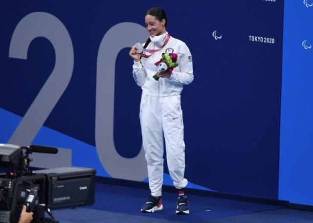 Broken world record and three Paralympic medals for Army Soldier