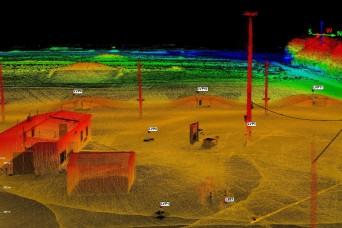 Fort Leonard Wood Geospatial Engineers partner with NGA, test laser-based surveying technology