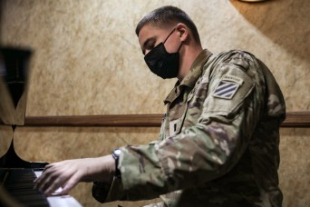 A Military Intelligence Officer's Career Hits A High Note