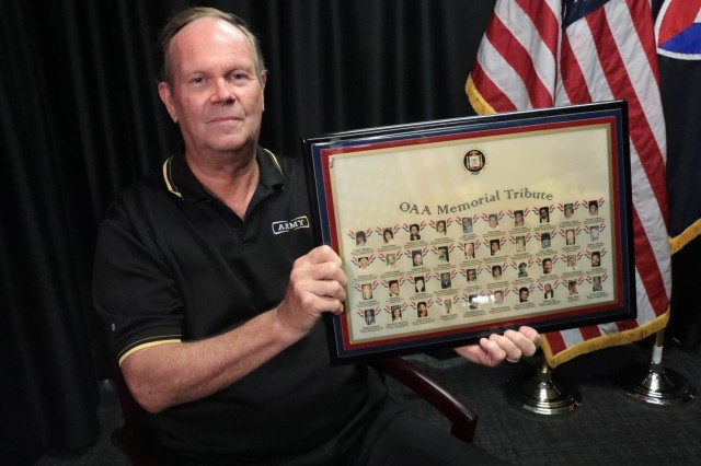 Kirk Hamlet, who serves as AMC's division chief for information management in the deputy chief of staff G-2/6, remembers being in the Pentagon on September 11, 2001.