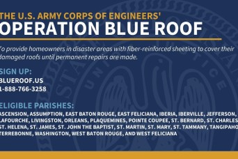 State, FEMA add more Parishes to Blue Roof Program