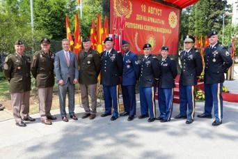 Vermont Guard delegation visits SPP partner North Macedonia