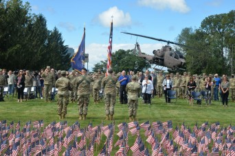 New York National Guard remembers 9/11 with ceremony