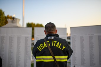 USAG Italy Marks Two Decades Since 9/11