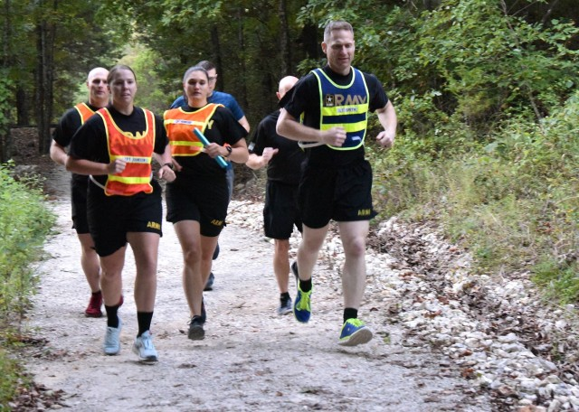 The run started and ended at the Digital Training Facility, and incorporated the 2.2-mile Engineer Fitness Running Trail near Morelli Heights.
