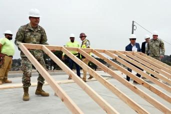 Presidio of Monterey 'goes vertical' on energy efficient family housing area