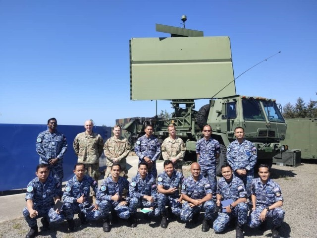 The Western Air Defense Sector hosts 12 members of the Royal Malaysian Air Force as part of a subject matter exchange entailing hands-on training at a radar site at Camp Rilea, Oregon, Aug. 27, 2021. Washington and Malaysia have been partner countries in the National Guard State Partnership Program since August 2017. (Courtesy photo)