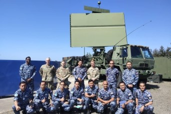 Royal Malaysia Air Force trains on radar operations at WADS