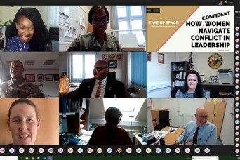 405th AFSB Project Inclusion initiative continues with women's mentorship virtual seminar