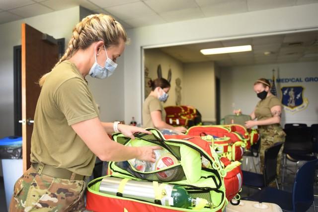 Airmen prepare for Hurricane Ida response