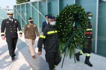 Italians, Americans mark 20 years since 9/11
