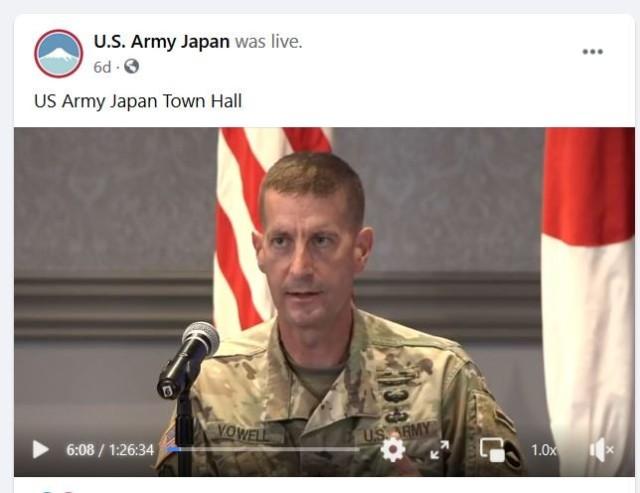 USARJ town hall updates Camp Zama community on Army housing, COVID-19
