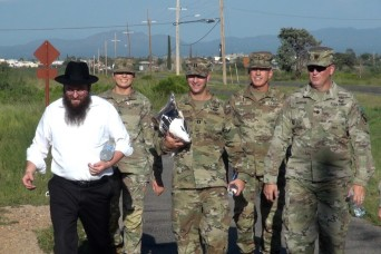 Fort Report: Rabbi makes trek to celebrate New Year