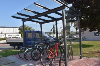 Bike shelters, running trail improving quality of life for community