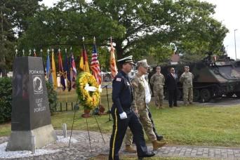 Wiesbaden Garrison remembers September 11th in solemn ceremony