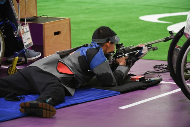 Army marksmen compete at Paralympic Games