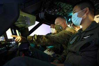 Washington Guard, Royal Thai Army conduct aviation exchange