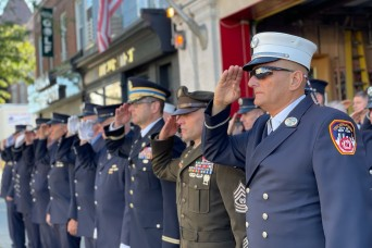 Fort Hamilton honors First Responders on 9/11