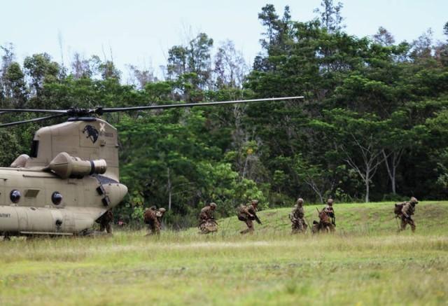 3-25 ID Bronco Rumble Hawaii Assault
