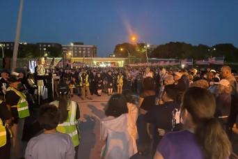 Fort Hamilton shares hope at Community Vigil on 9/11