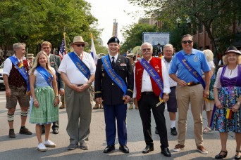 Chicago's 2021 Steuben Parade honors U.S. Army Reserve Soldier