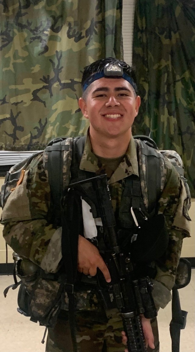 Cadet Ricardo Correa is a first-generation American attending Arizona State University. He has plans to become an Army physical therapist.   Photo provided by Ricardo Correa.