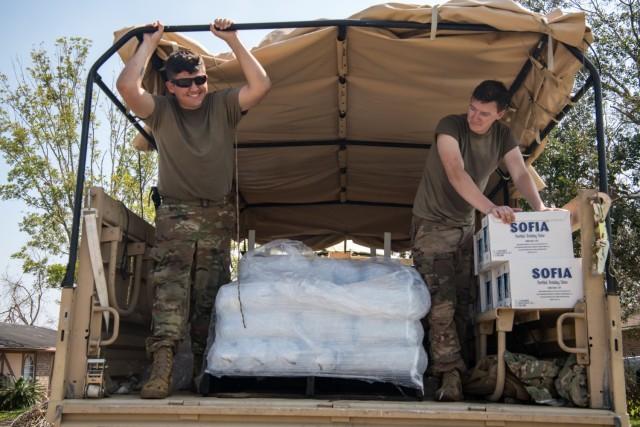 Oklahoma Guard completes Hurricane Ida relief mission