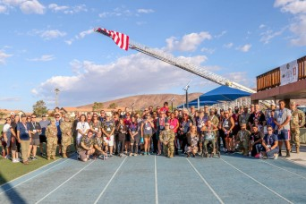 Fort Irwin Community Honors Gold Star Families
