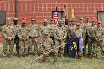 1st Infantry Division commanding general recognizes EOD, CBRN military volunteers