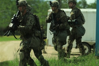 White Currahee secures village during realistic training at Fort Polk