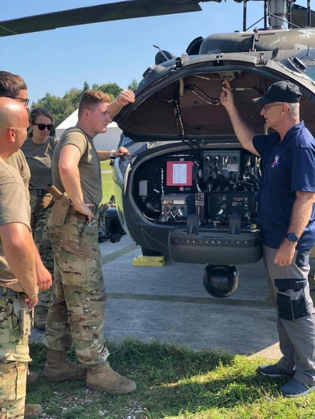405th AFSB Logistics Assistance Representative provides training to 2-1 CAB during Saber Junction 21