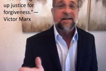 Resiliency lecture: Victor Marx shares his life, resiliency lessons, and what forgiveness means