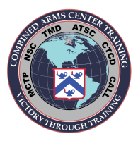 COMBINED ARMS CENTER-TRAINING logo