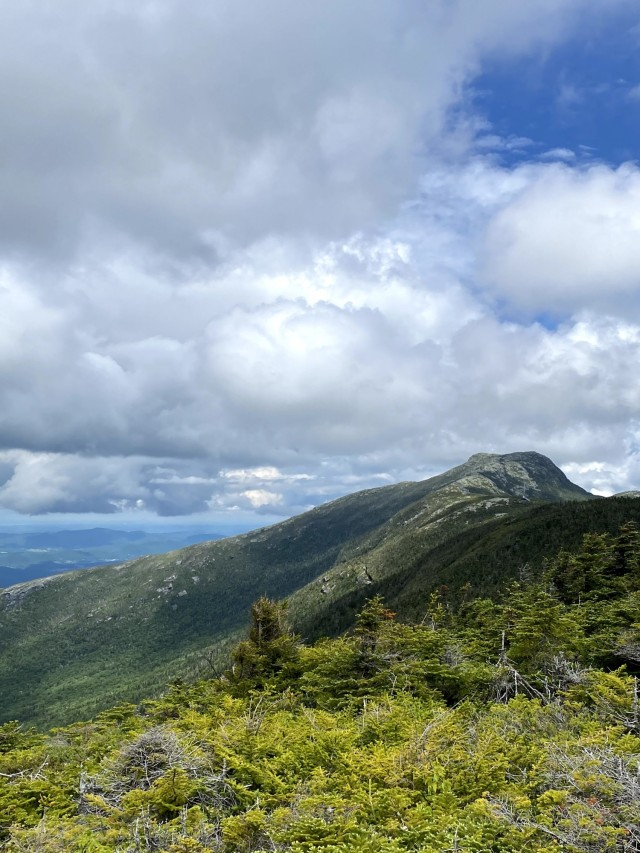 View from a scenic outlook at one of the many peaks along The Long Trail, running from Canada to Massachusetts on June 16, 2021. Alaina Killion completed the 273-mile hike alone this past June. (U.S. Army Reserves photo by Alaina Killion)