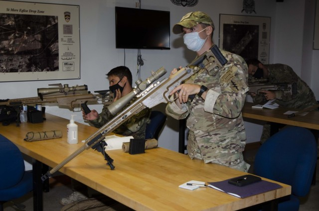 Special Operations, 82nd Airborne Snipers test new modular precision rifle at Bragg
