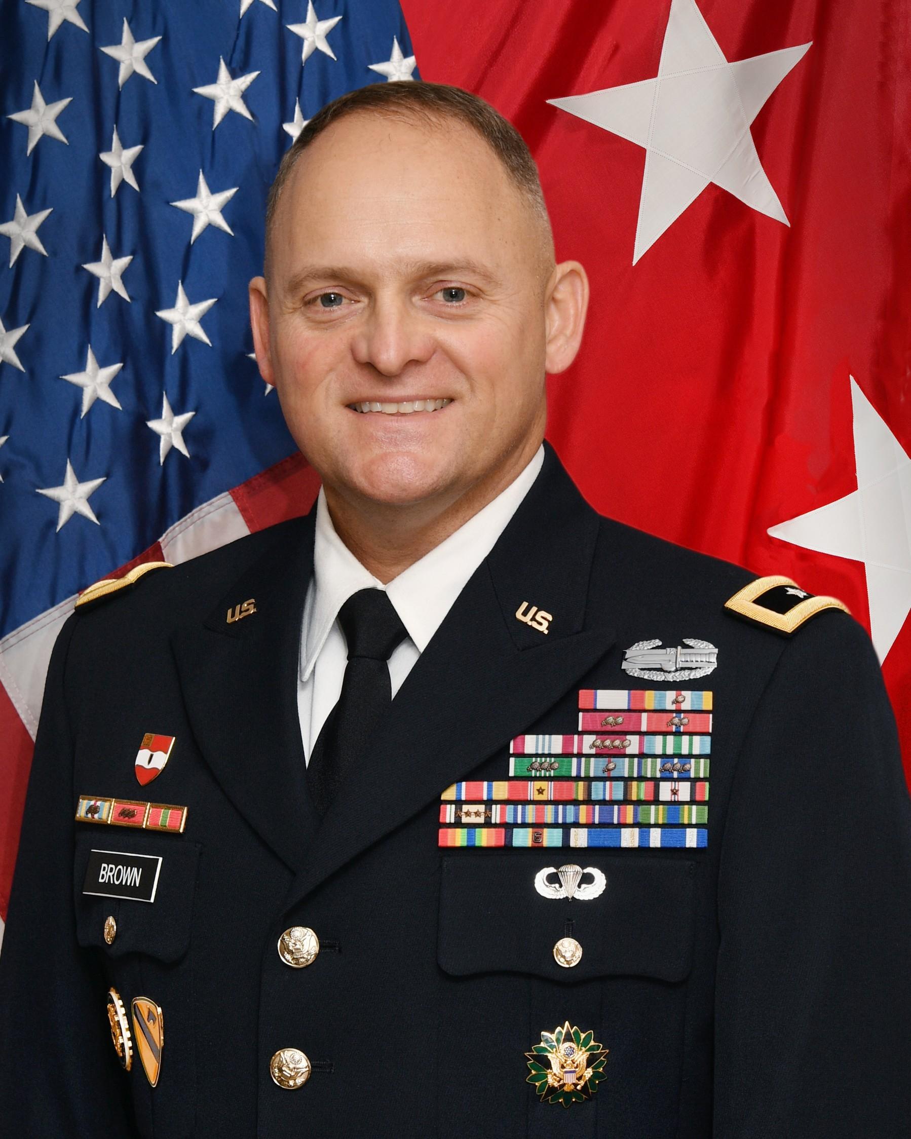 Major General Edmond (Miles) Brown