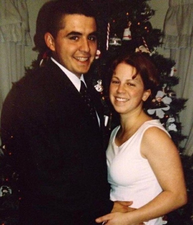 Sgt. First Class Casey Hicks and her late husband Pfc. Juan Garza eloped on 26 December 2002, a couple of weeks before he left for his deployment.