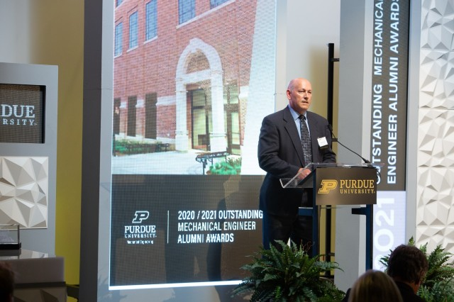 Crane Army's Norman Thomas Recognized as Outstanding Mechanical Engineer by Purdue University