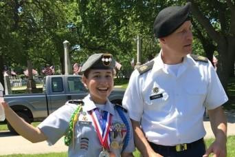 Cadet Perez's journey to the uniform