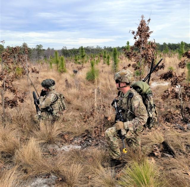 IOTE Manpack and Leader radios Fort Bragg, NC