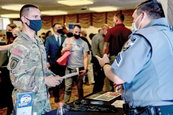250 attend career fair: Job seekers prepare for transition