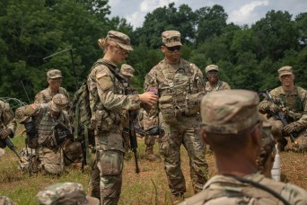 Enlisted to Officer: Captain inspires next generation of ROTC Cadets
