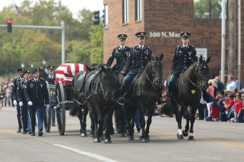 Soldiers, community honor Chaplain Kapaun as he is laid to rest