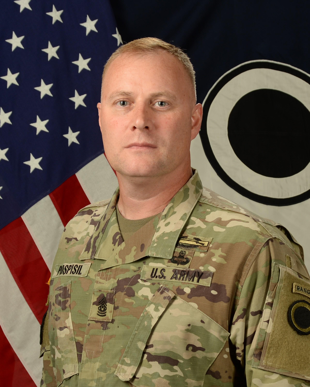 Command Sgt. Maj. Shane E. Pospisil